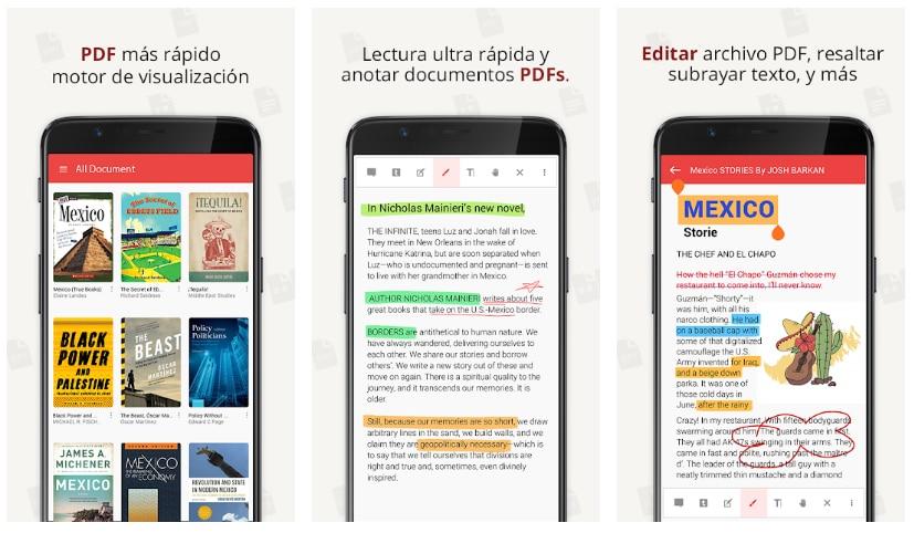 pdf reader aplicaciones para subrayar pdf
