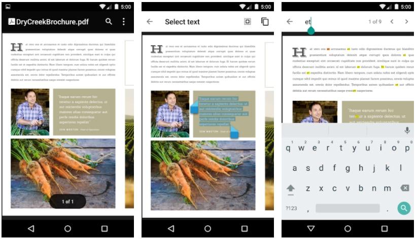 visor pdf google aplicaciones para subrayar pdf