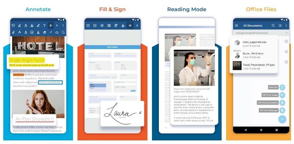 lector pdf aplicaciones para subrayar pdf
