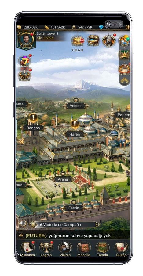 Imagen de ciudad en Game of Sultans