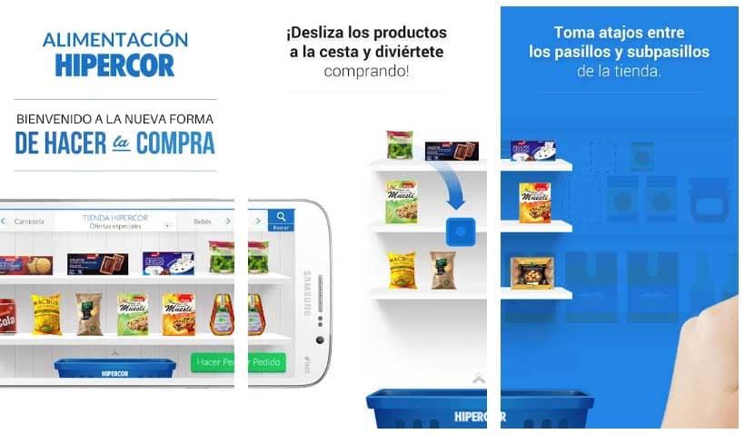 app suprmercado hipercor