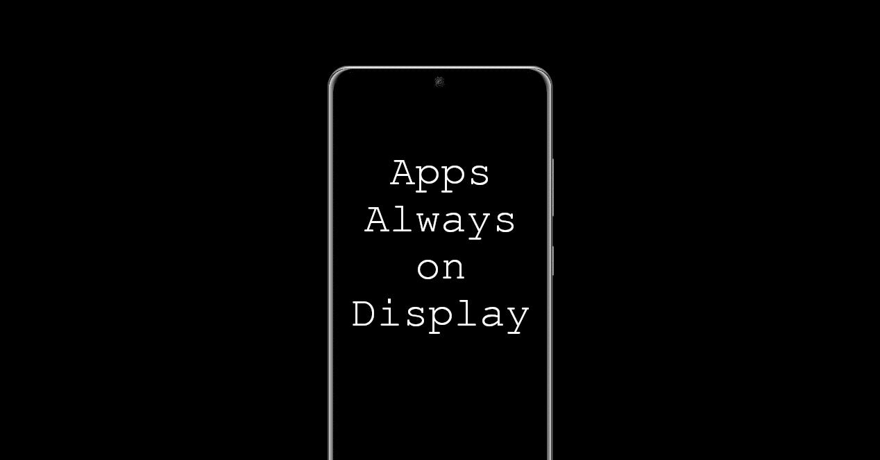 Apps Always on Display