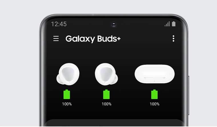 Galaxy Buds bateria