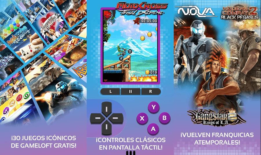 Gameloft Classic aniversario 30 juegos gratis