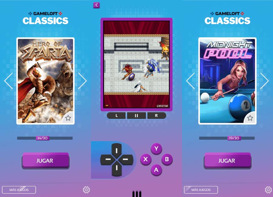 30 juegos gratis en Gameloft Classic