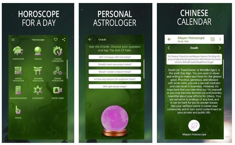app horóscopo y signo zodiacal