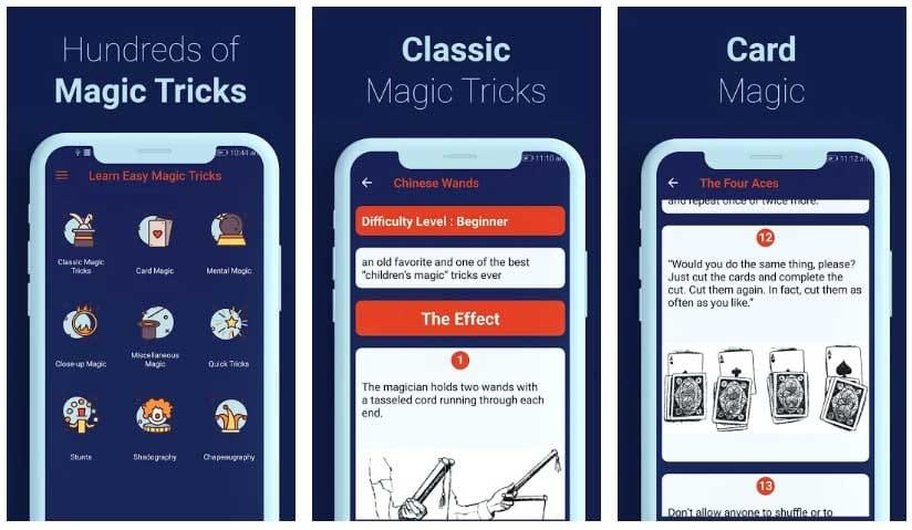 learn easy magic tricks magia