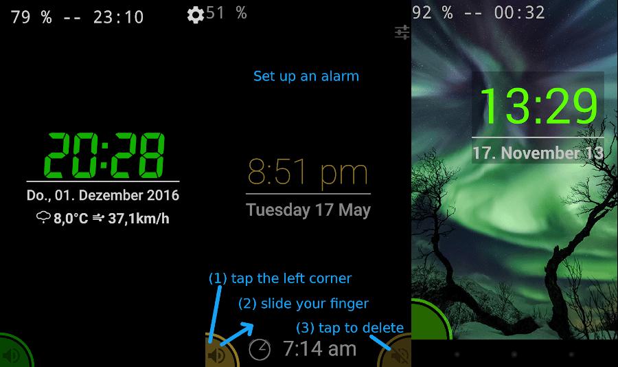 app Night Clock
