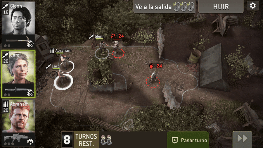 Juego The Walking Dead juegos zombies