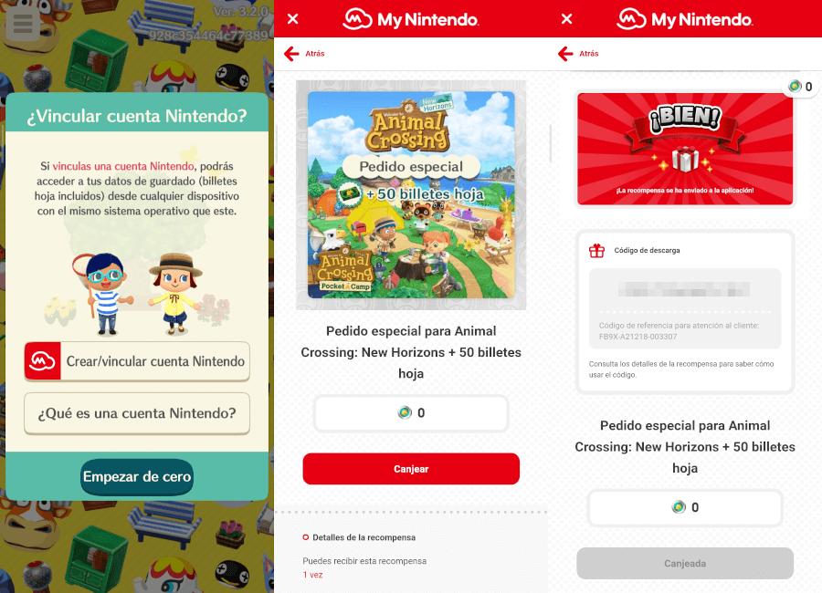 Cómo vincular Animal Crossing: Pocket Camp con el de Switch