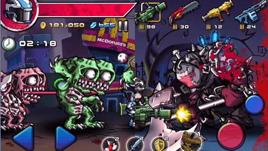 Zombie Diary juegos zombies