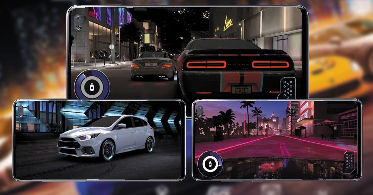 Imagen del juego de carreras Forza Street