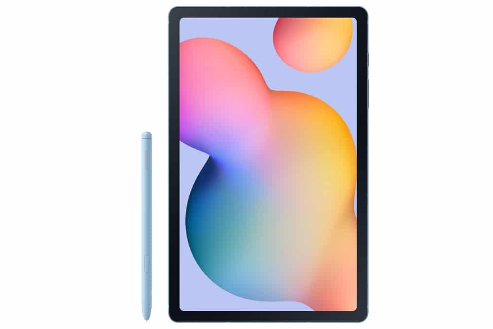 Imagen frontal del tablet Samsung Galaxy Tab S6 Lite