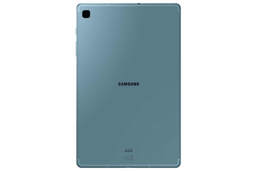 Imagen trasera del tablet Samsung Galaxy Tab S6 Lite