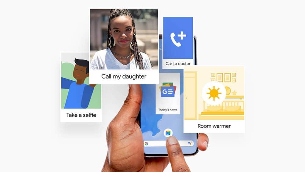action blocks google widgets android