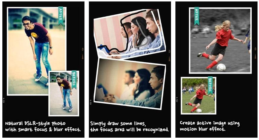 apps con modo retrato after focus