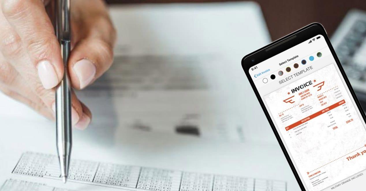 apps facturas de empresa