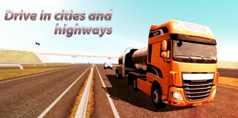 camión simulador europa