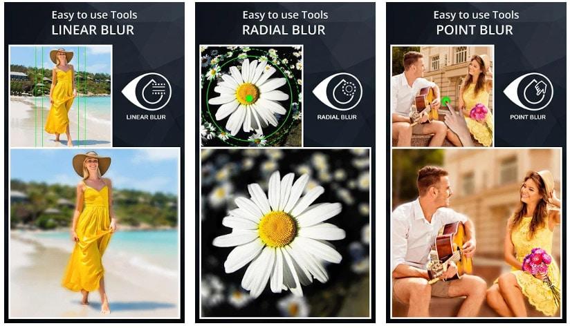 apps con modo retrato efecto desenfoque cámara