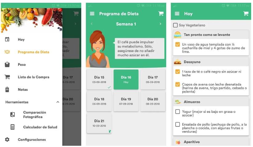 apps adelgazar entrenador 30 días