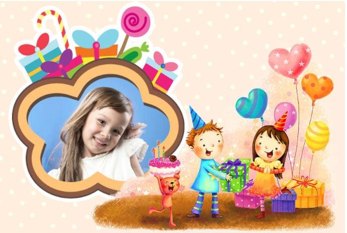 marcos de fotos cumpleaños