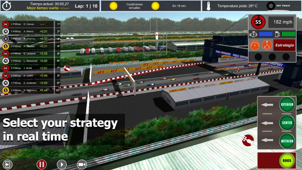 race master manager android