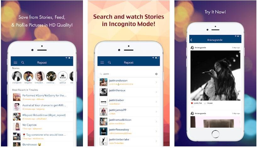 repost historias instagram
