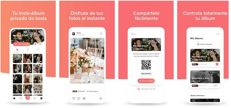 wedshoots apps útiles para bodas