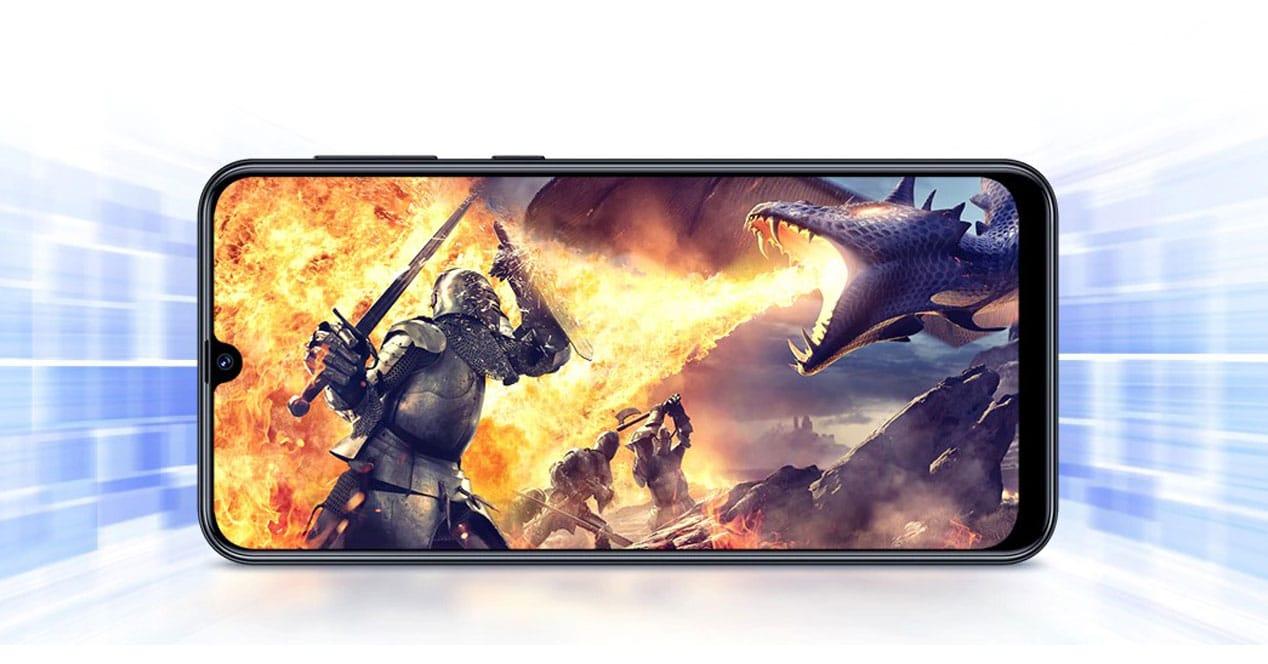 Juego en el Samsung Galaxy M21