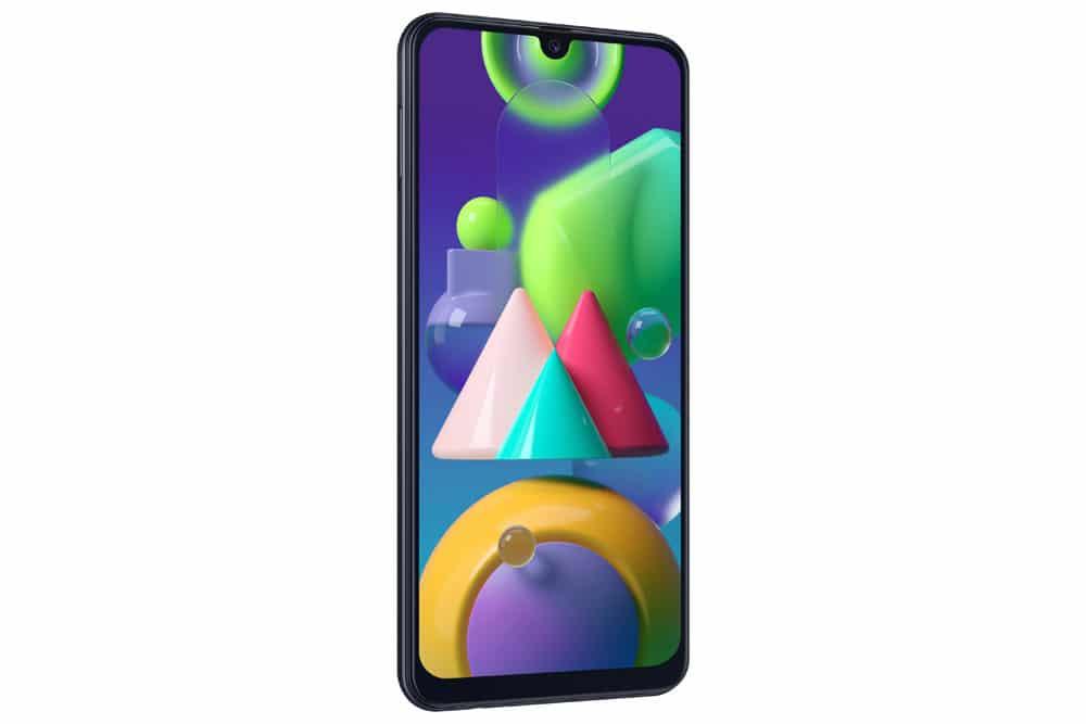 Imagen lateral del Samsung Galaxy M21