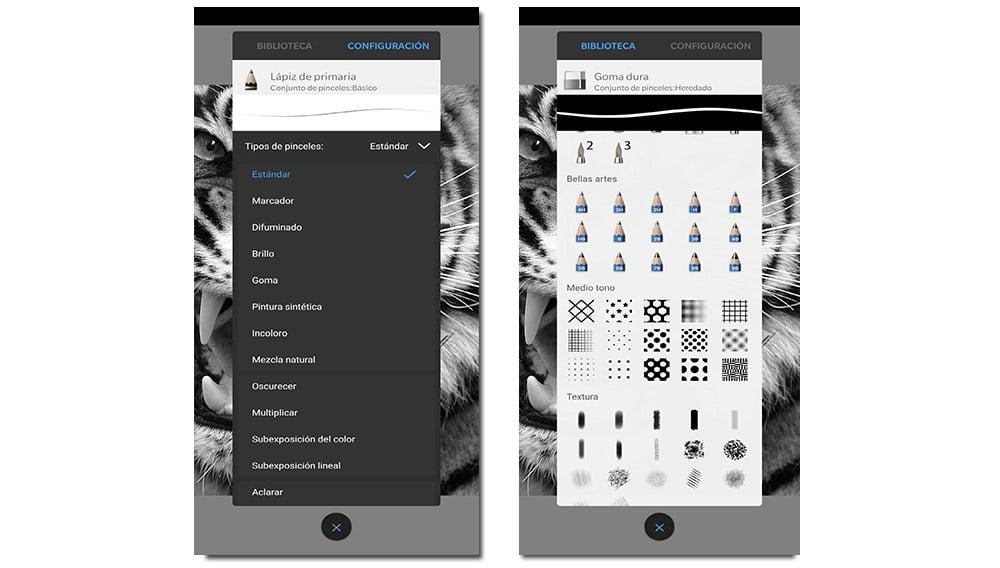 Autodesk SketchBook configuración