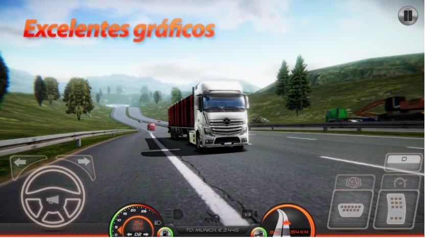 camión simulador europa 2 juegos camiones