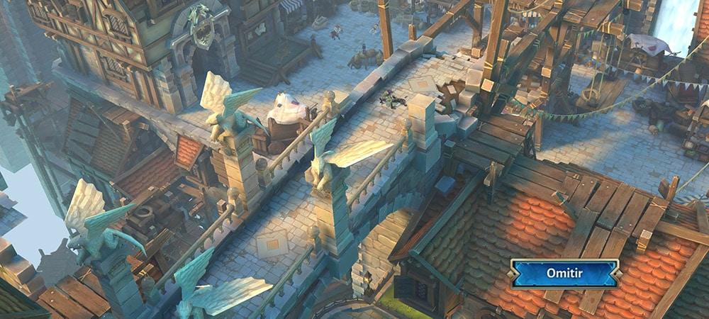 dungeon hunter 5 gráficos niveles