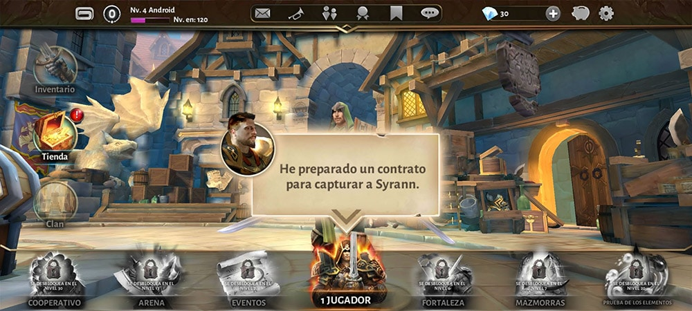 dungeon hunter 5 modos de juego