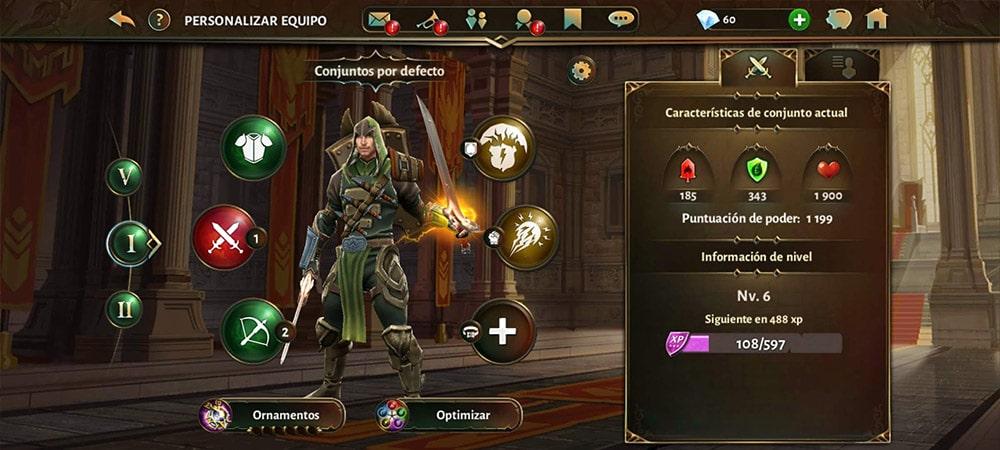 dungeon hunter 5 personaje