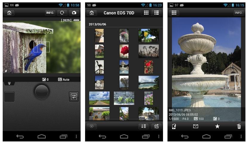 eos remote apps dslr
