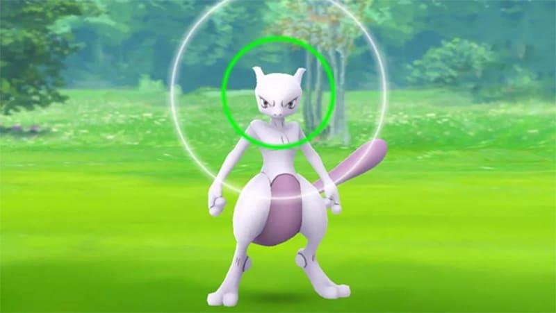 mewtwo pokémon go legendarios