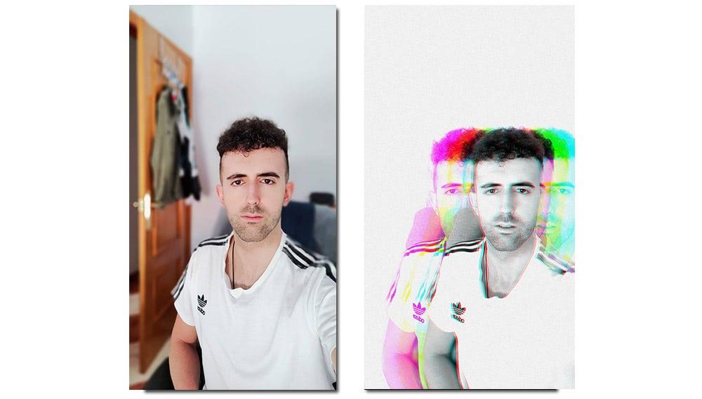 pohotshop camera retrato