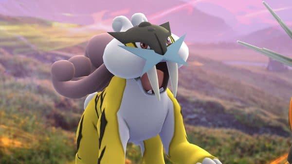 raikou pokémon go legendarios