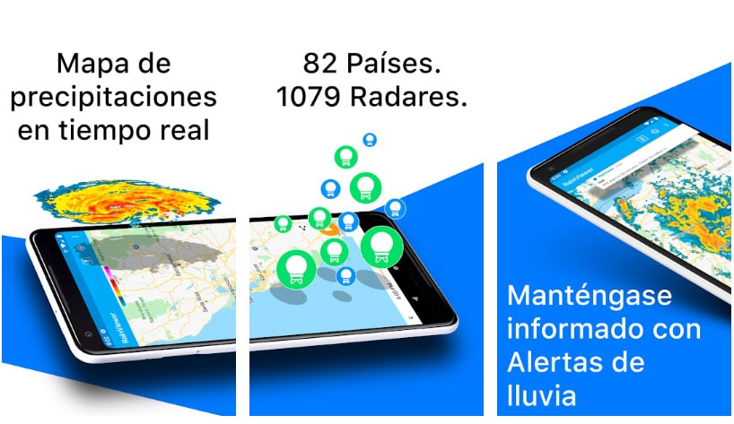 rain viewer apps alertas
