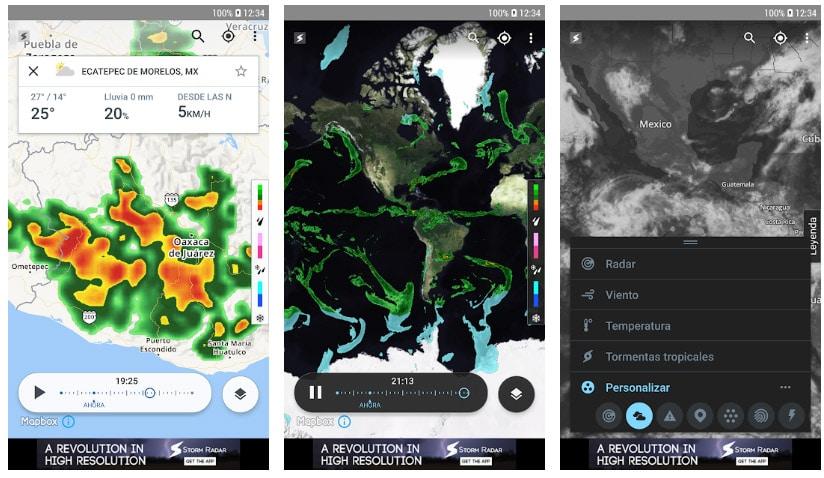 storm radar apps alertas