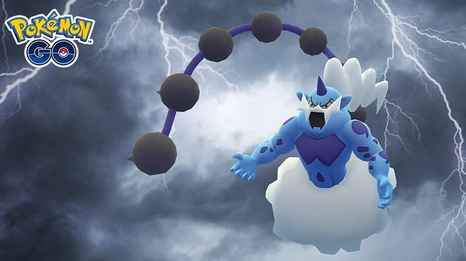 thundurus pokémon legendarios