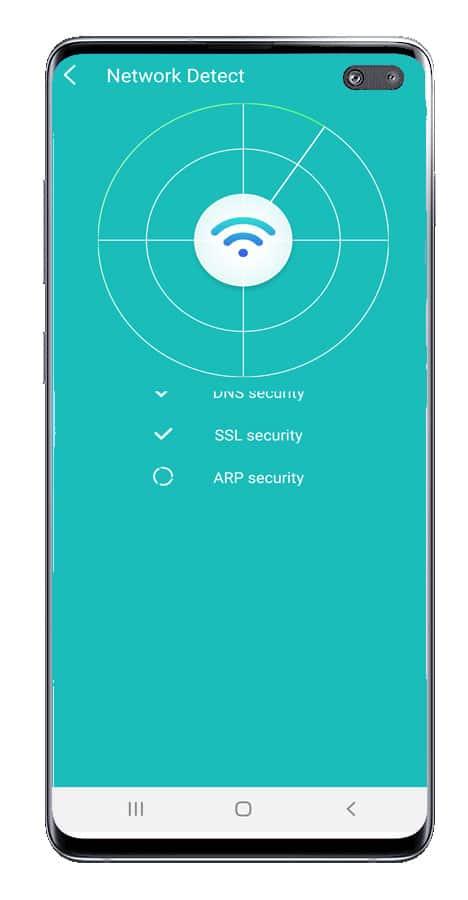 Escaneo de redes en WiFi Booster