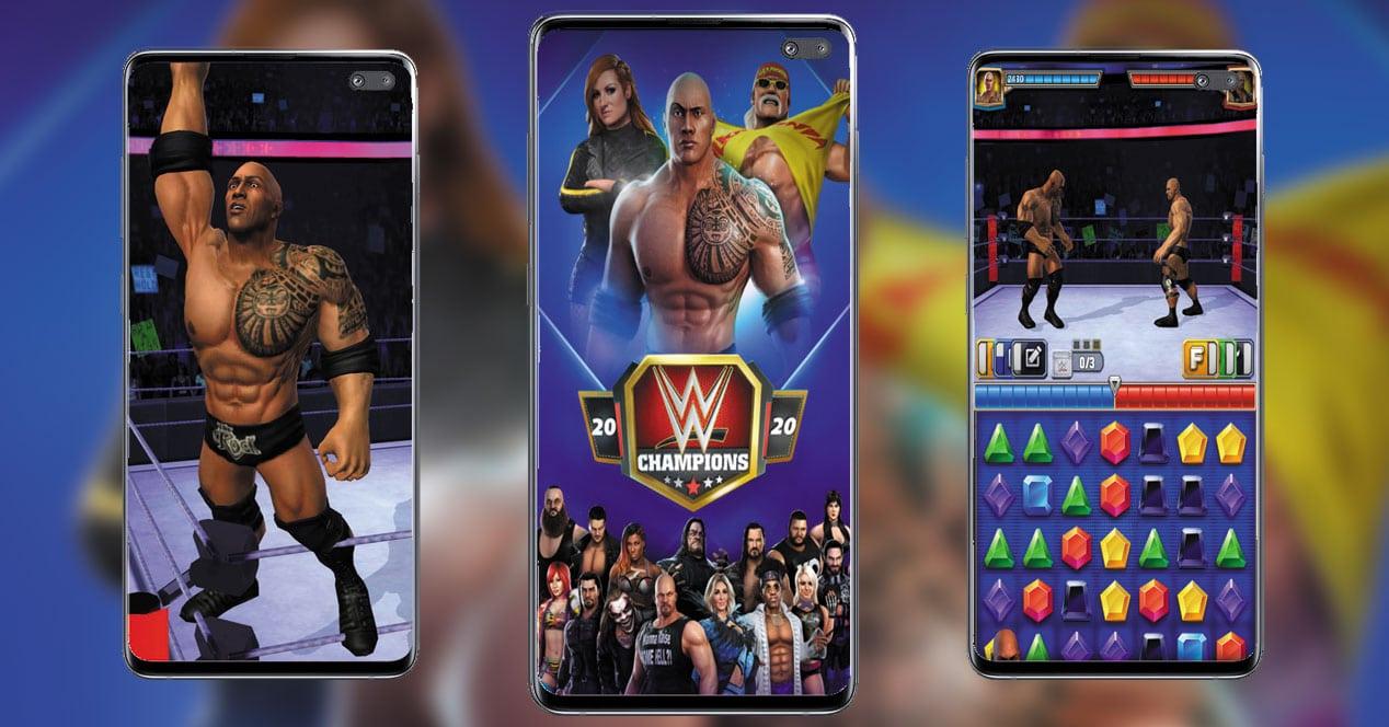 Imagen juego WWE Champions 2020