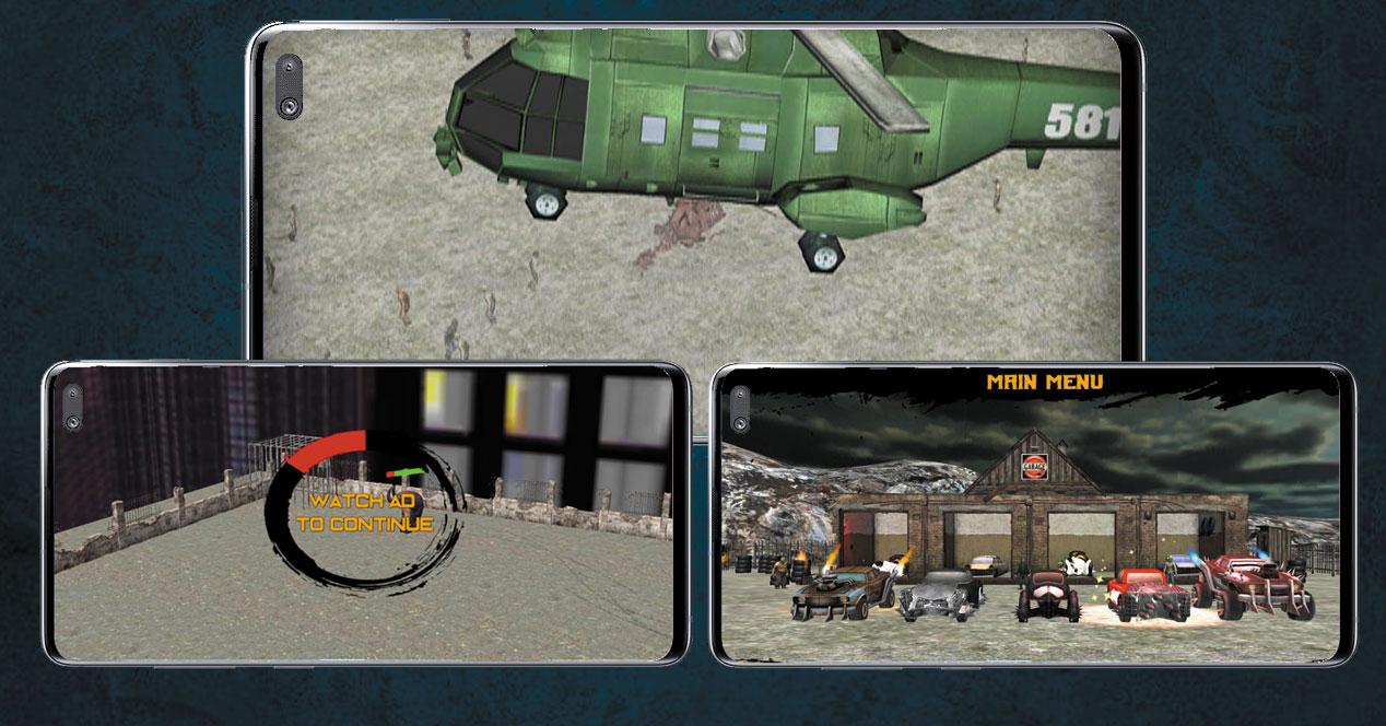 Imagen juego Zombie Road Kill - Zombie drift hunter