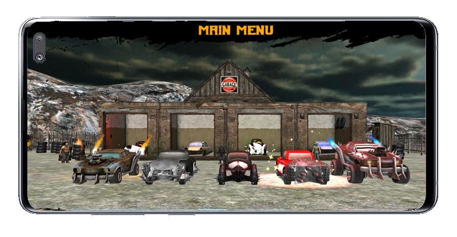 Selección de coches en Zombie Road Kill - Zombie drift hunter