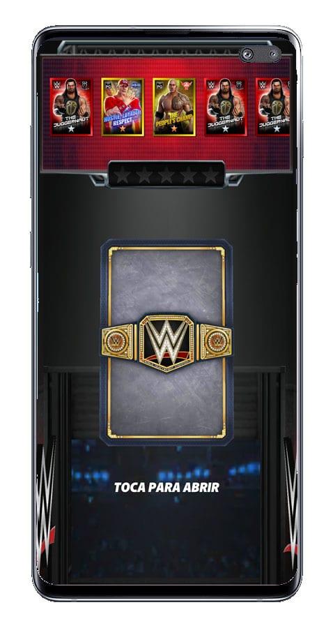 Carta de nuevo luchador en WWE Champions 2020
