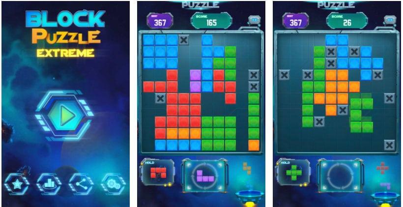 block extreme puzzle tetris