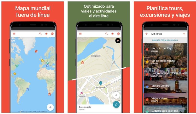 citymaps2go apps útiles viajar europa