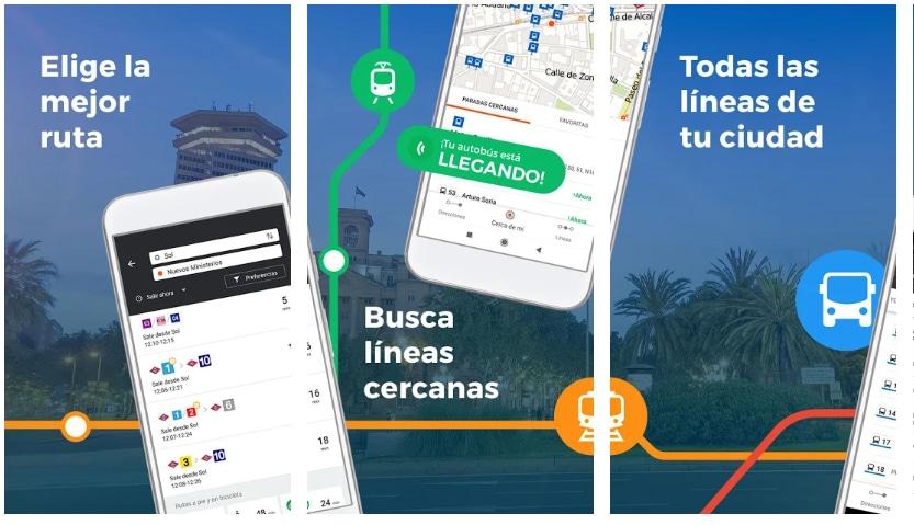 moovit apps útiles viajar